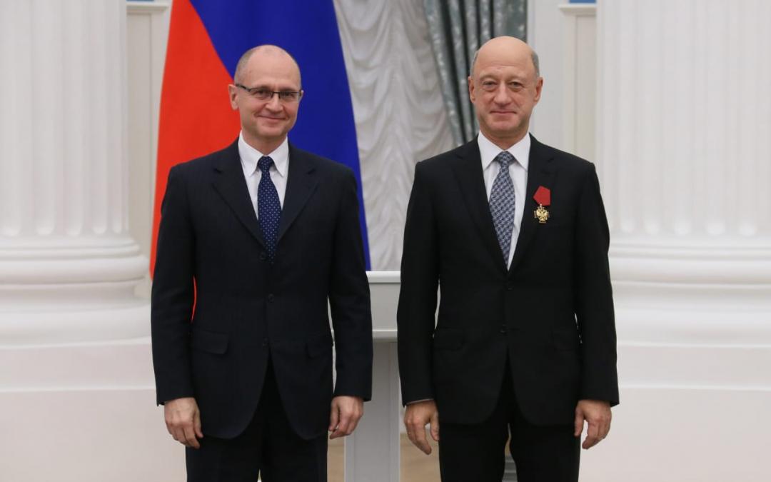 Александра Бабакова награждён орденом «За заслуги перед Отечеством» IV степени