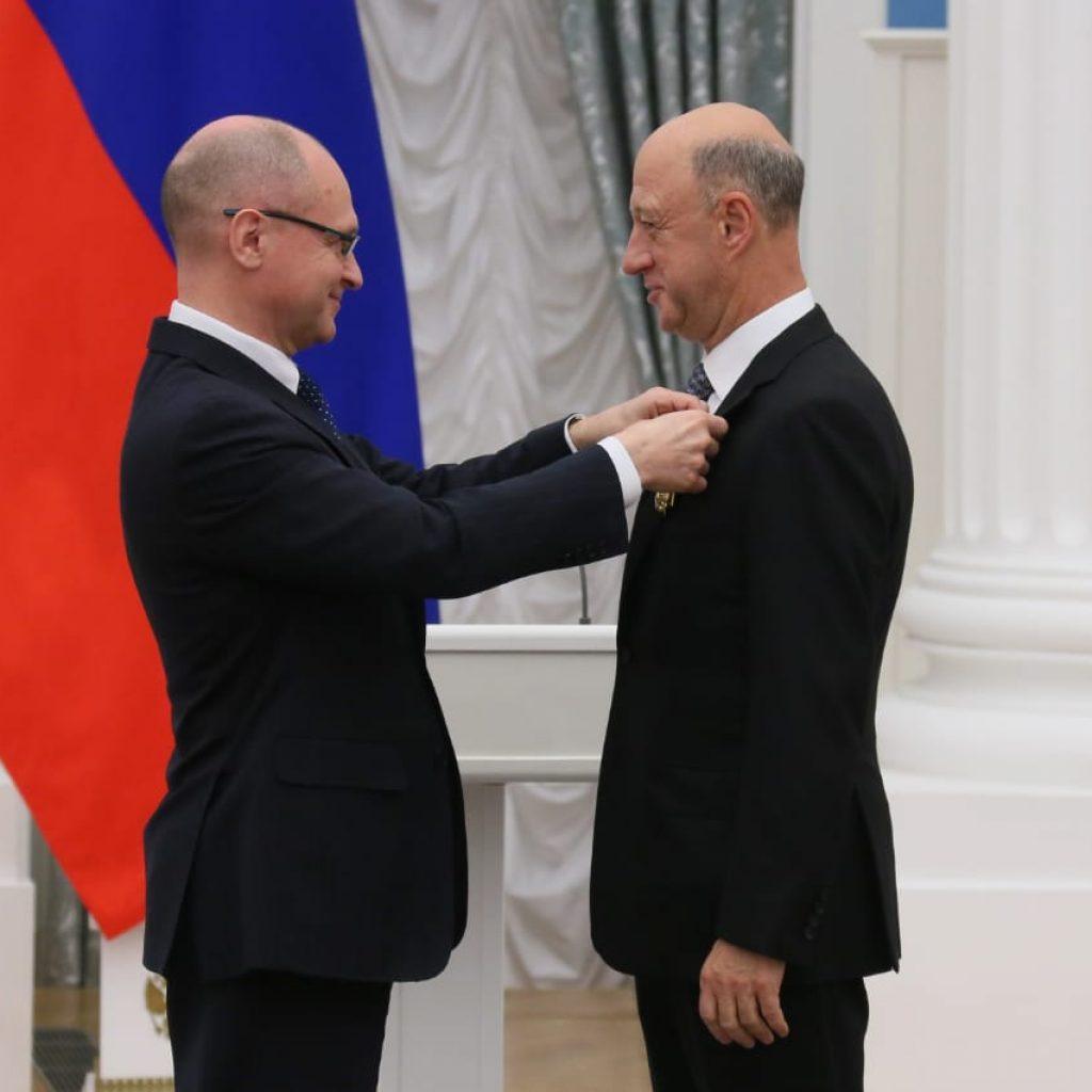 Александр Бабаков награждён орденом «За заслуги перед Отечеством» IV степени 1
