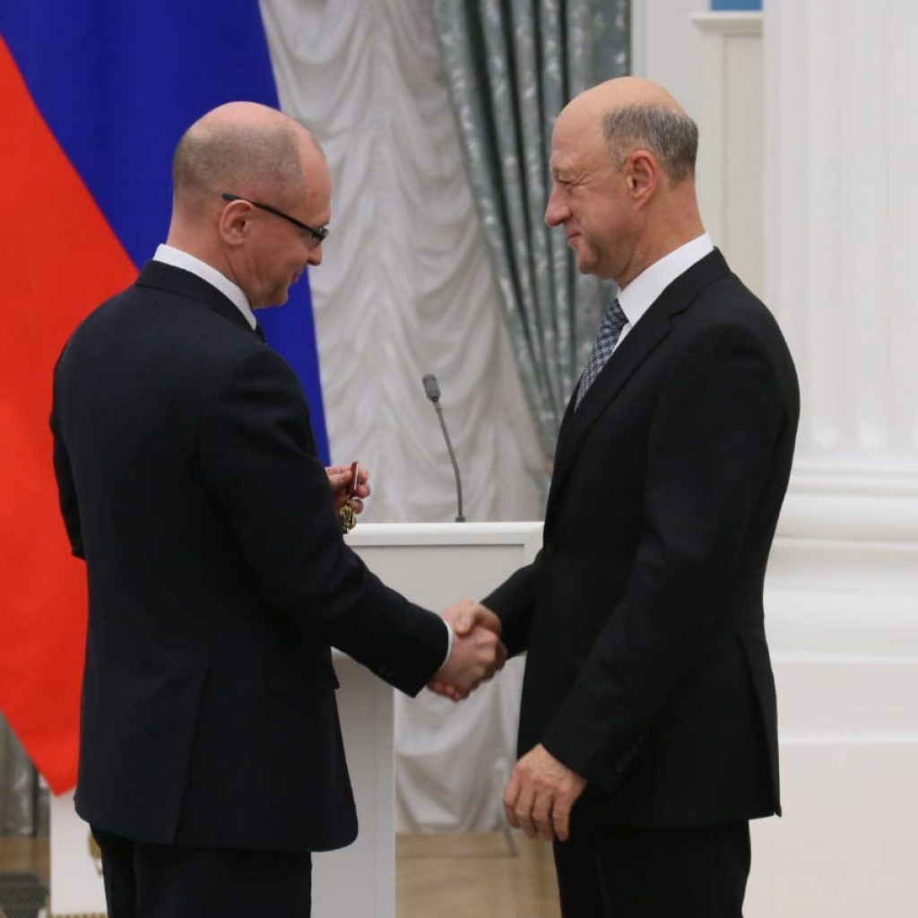 Александр Бабаков награждён орденом «За заслуги перед Отечеством» IV степени 2