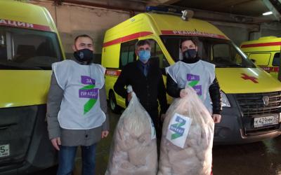 ЗА ПРАВДУ в Вологодской области продолжает помогать врачам