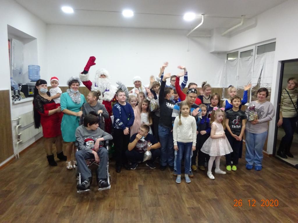 Светлый праздник для детей с ограниченными возможностями здоровья в Воронеже 1