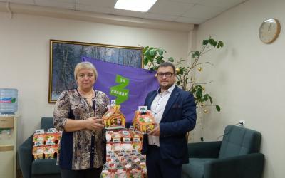 Подарки солдатам-сиротам от ЗА ПРАВДУ в Кировской области