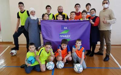 Большие планы на спорт ЗА ПРАВДУ в Татарстане