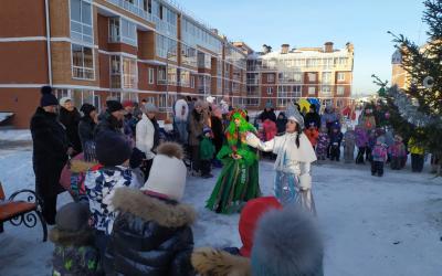 ЗА ПРАВДУ организовала новогодний праздник для детей в Иркутске