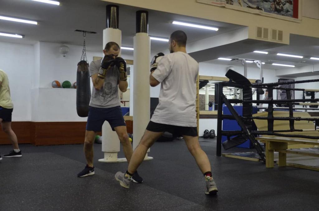 Гвардия Захара Прилепина в Рязани продолжает плановые занятия по физической подготовке 1