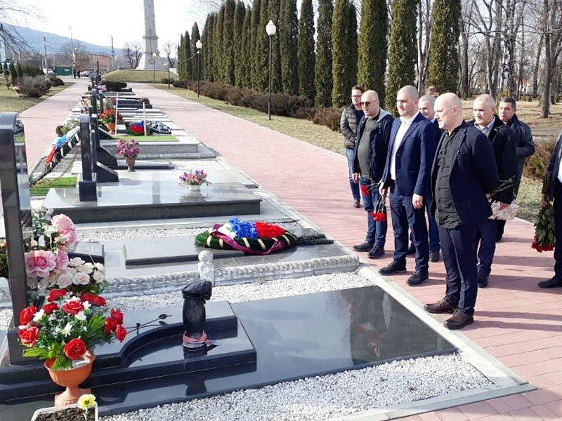 3-4 февраля Захар Прилепин посетил Владикавказ