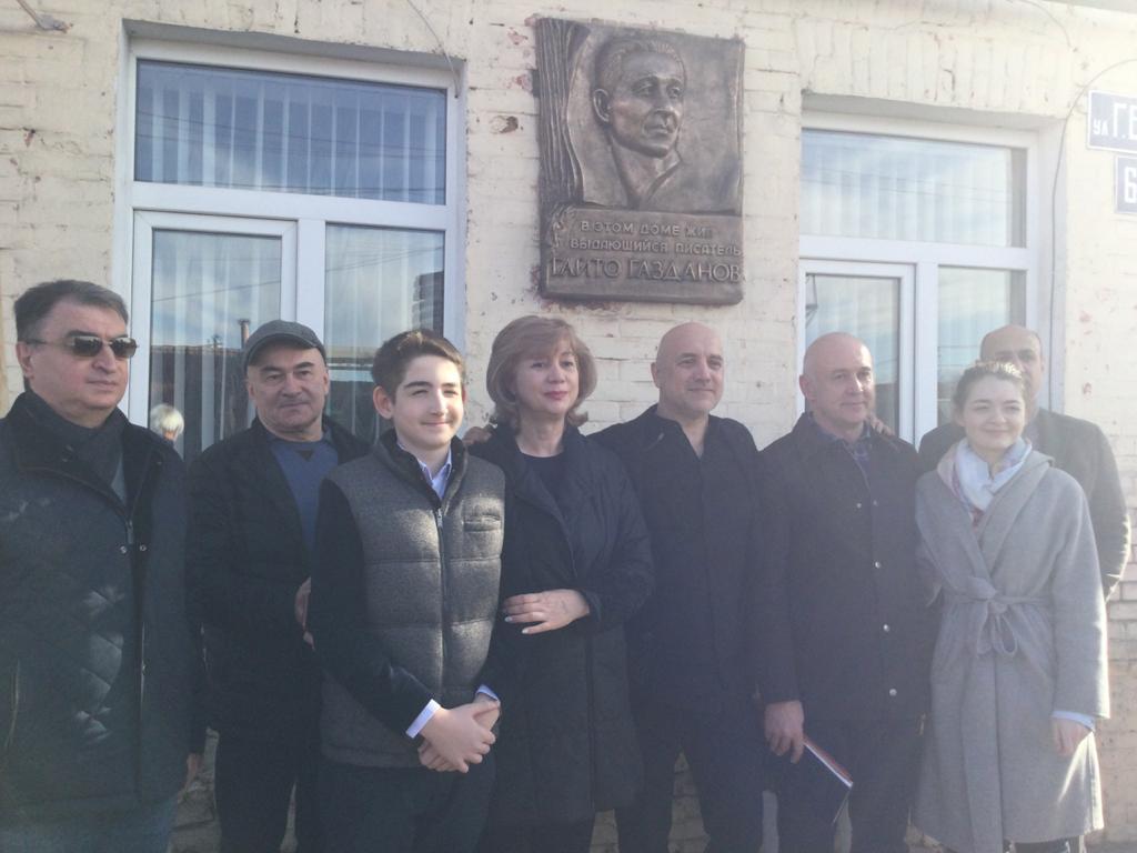3-4 февраля Захар Прилепин посетил Владикавказ 3