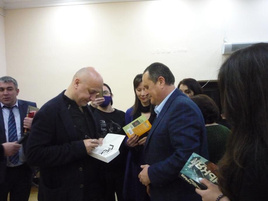 3-4 февраля Захар Прилепин посетил Владикавказ 2