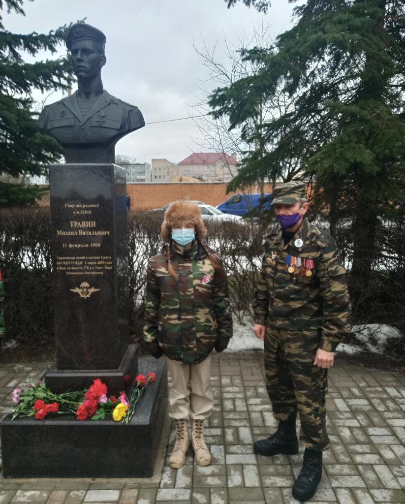 Гвардия Захара Прилепина в Пскове почтила память своих героев 2