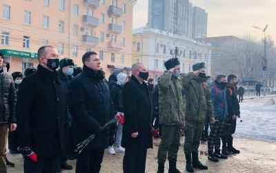 ЗА ПРАВДУ в Рязанской области приняло участие в мероприятии в честь годовщины разгрома немецко-фашистских войск под Сталинградом