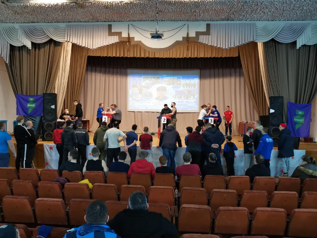 Проведен турнир по армрестлингу ЗА ПРАВДУ в Тюменской области 1