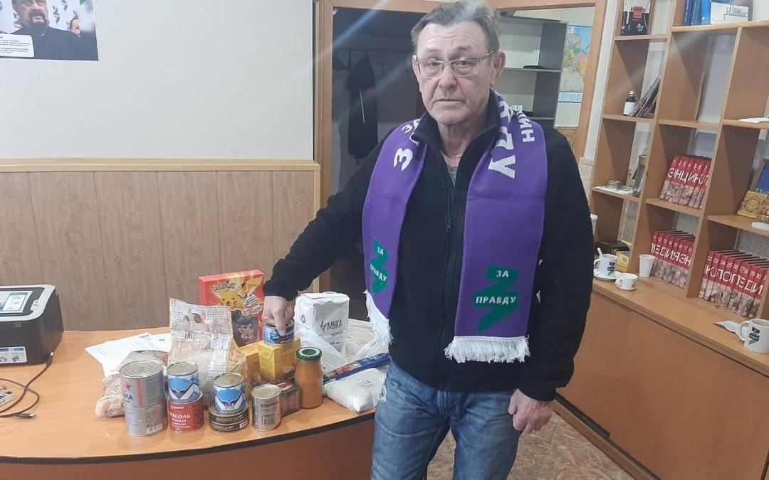 Челябинск: Гвардия Захара Прилепина в беде не бросает
