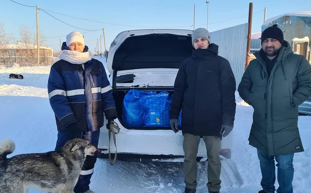 ЗА ПРАВДУ в ЯНАО помогли фонду бездомных животных