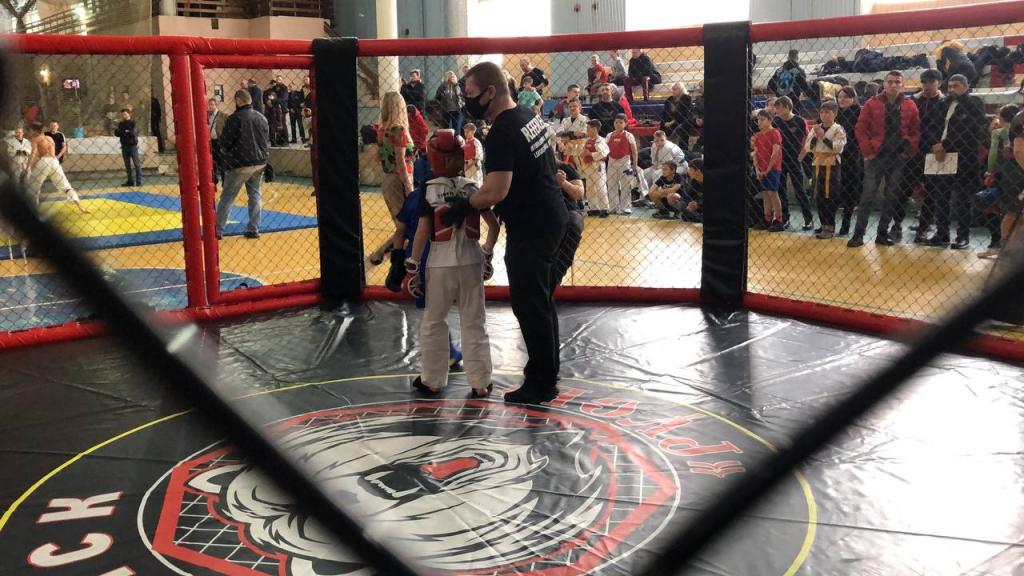 Гвардия Захара Прилепина поддержала Чемпионат Комбат Самообороны в Подмосковье 1
