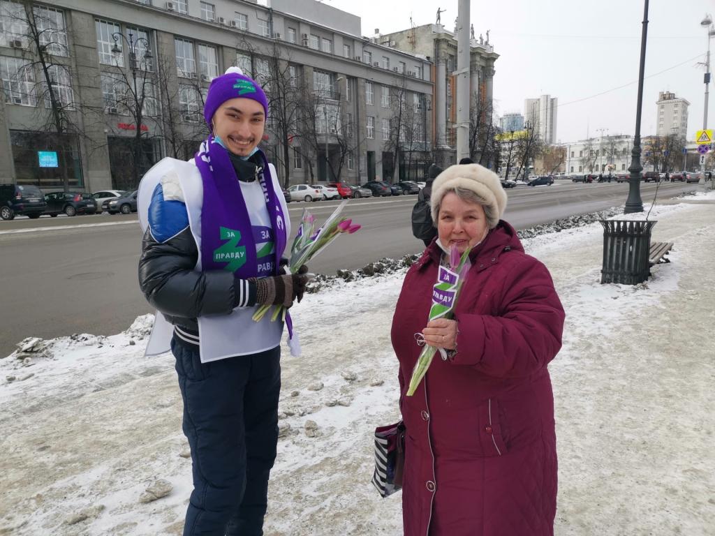 Движение Захара Прилепина поздравило женщин по всей стране 4