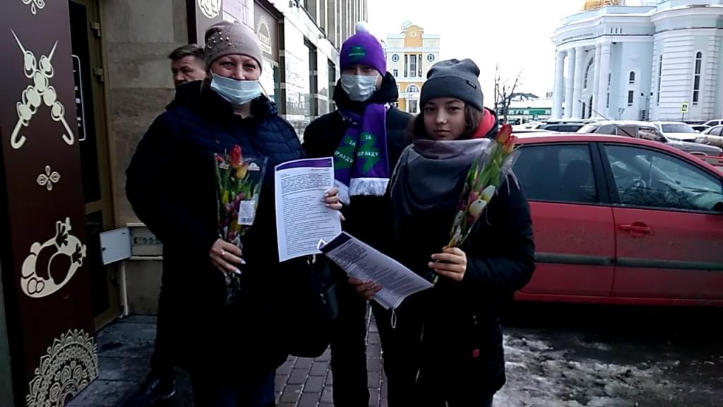 Движение Захара Прилепина поздравило женщин по всей стране 14