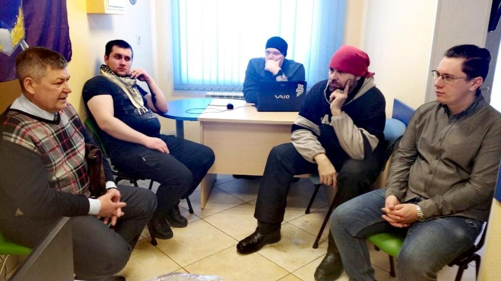 Состоялось собрание Гвардии Захара Прилепина в Омске 1