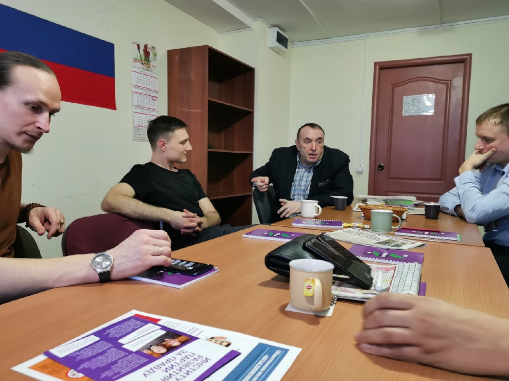 У Гвардии Захара Прилепина и «Патриотов России» в Пензе совместные планы 1