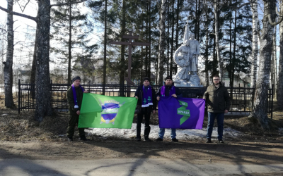 Братское захоронение воинов ВОВ в Тверской области не должно исчезнуть с лица земли