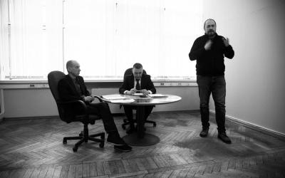 Всестороннее обсуждение на собрании Движения Захара Прилепина в ЦАО
