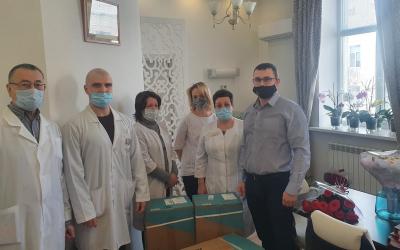 Гвардия Захара Прилепина – врачам Чувашии