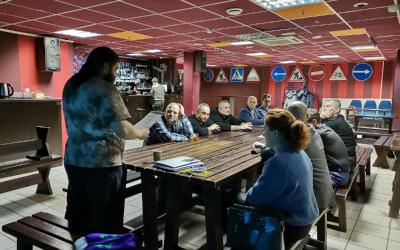 Состоялось собрание Движения Захара Прилепина в Новосибирской области