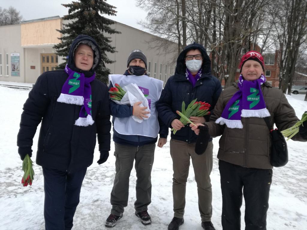 Движение Захара Прилепина поздравило женщин по всей стране 6