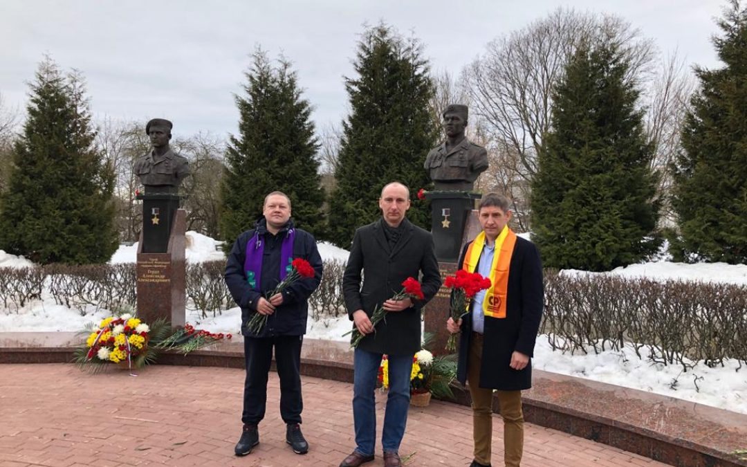 В Брянске почтили память воинов-десантников 6 парашютно-десантной роты Псковской дивизии