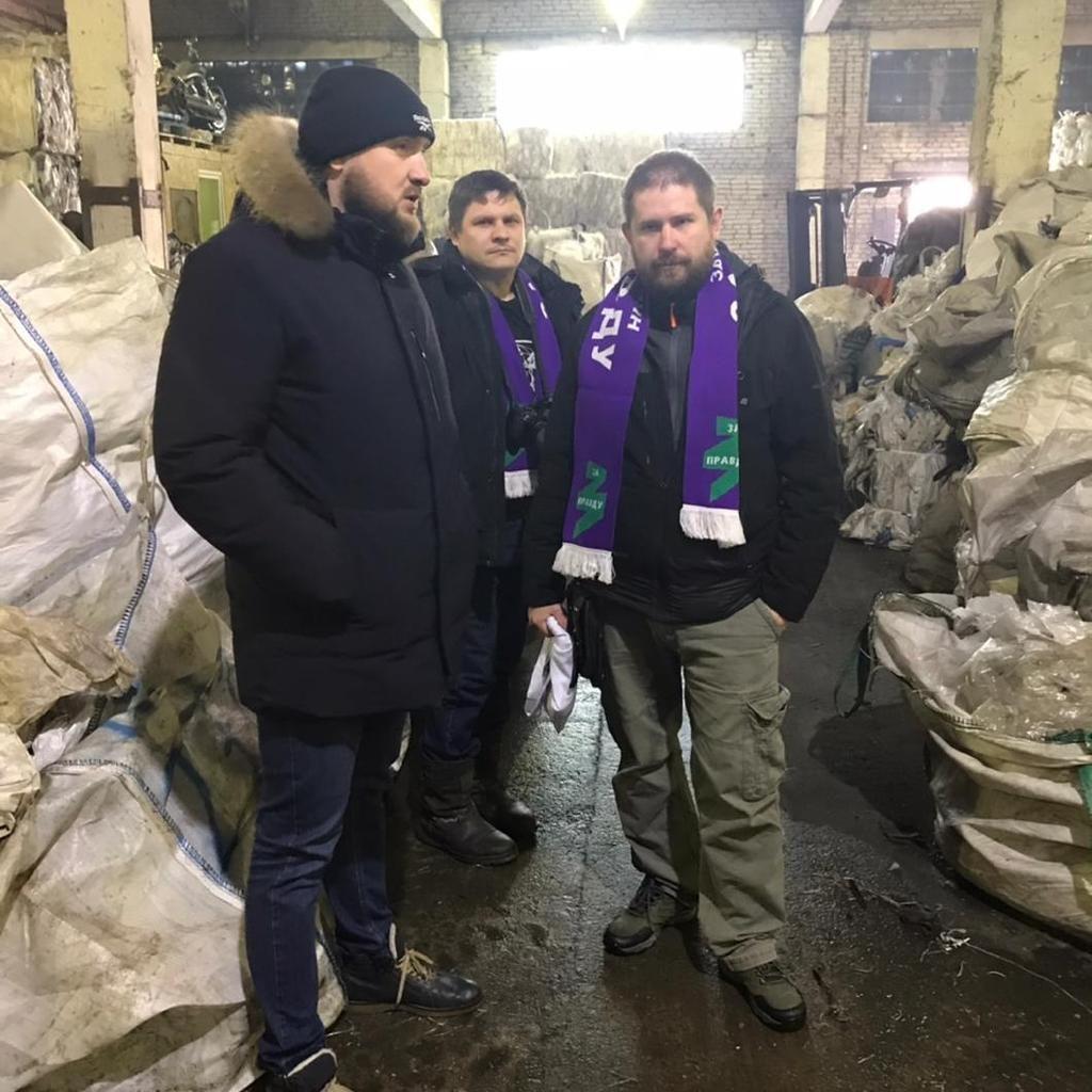 Гвардия Захара Прилепина в Александрове больше узнала о переработке вторсырья 1