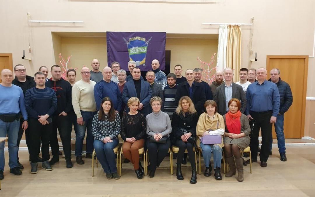 Движение Захара Прилепина в Ярославской области растет
