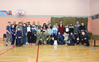 Мастер-класс для юных патриотов в Рязани