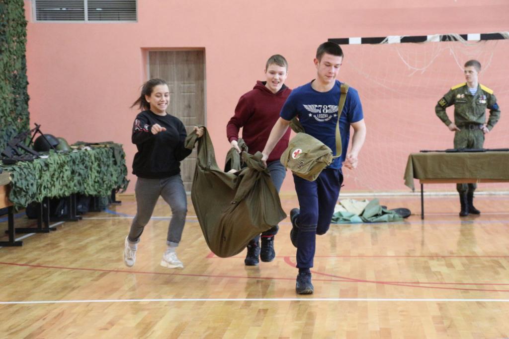 Мастер-класс для юных патриотов в Рязани 3