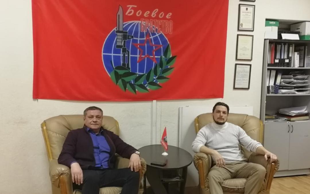 Движение Захара Прилепина в Вологде объединит усилия с «Боевым братством»