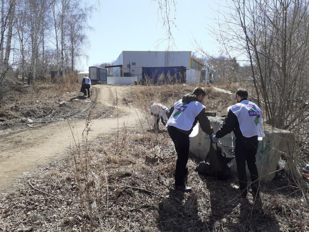 Движение Захара Прилепина в рамках проекта ЭкоСигал продолжает эстафету субботников по всей России 3