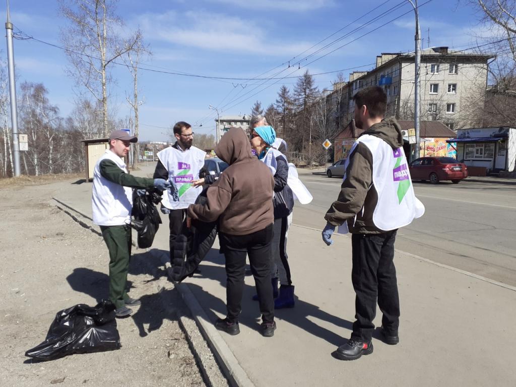 Движение Захара Прилепина в рамках проекта ЭкоСигал продолжает эстафету субботников по всей России 2