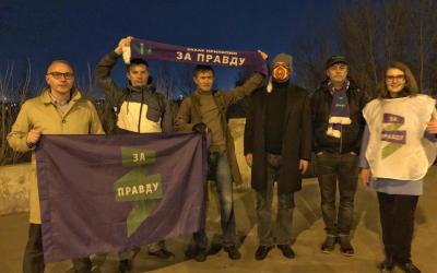 Казань устроила в честь полёта Юрия Гагарина салют