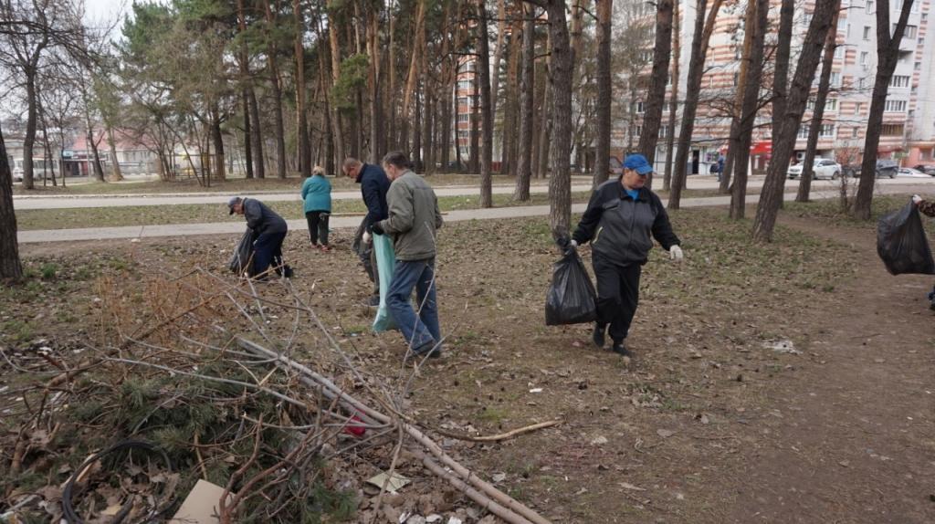 Движение Захара Прилепина в рамках проекта ЭкоСигал продолжает эстафету субботников по всей России 9