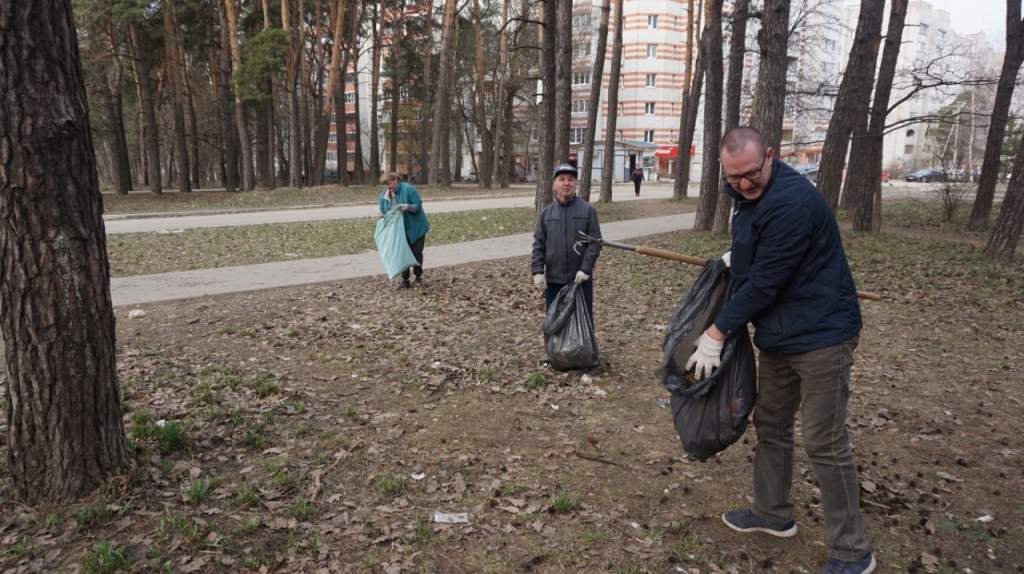 Движение Захара Прилепина в рамках проекта ЭкоСигал продолжает эстафету субботников по всей России 14