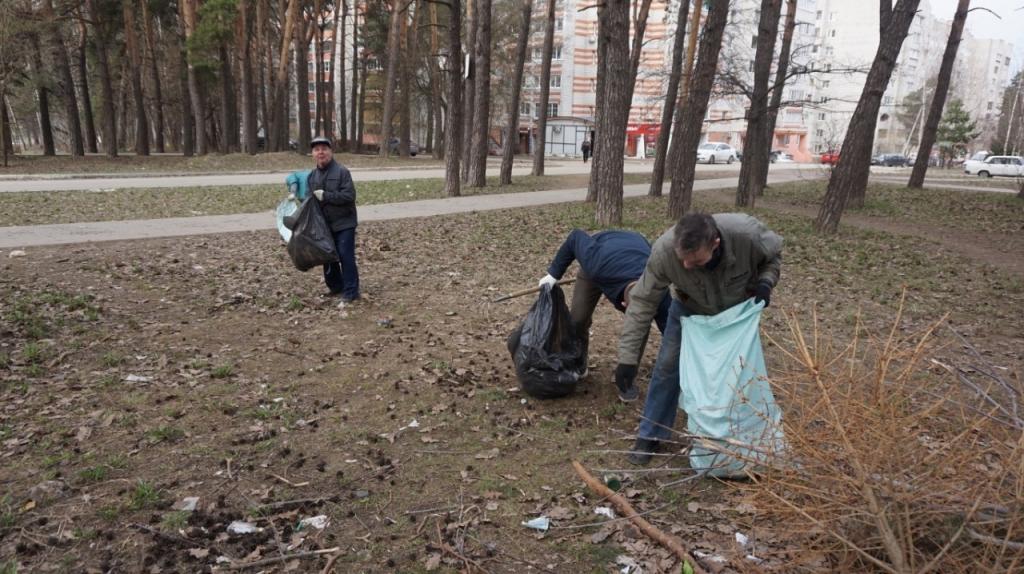 Движение Захара Прилепина в рамках проекта ЭкоСигал продолжает эстафету субботников по всей России 7