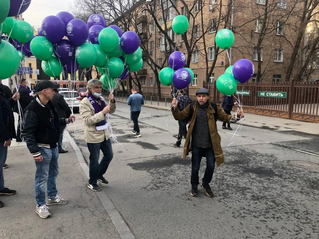 По всей России прошли акции Движения Захара Прилепина в честь 60-летия первого полета человека в космос 12