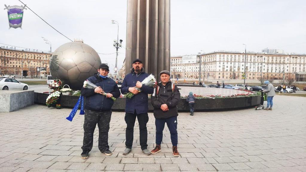 По всей России прошли акции Движения Захара Прилепина в честь 60-летия первого полета человека в космос 14