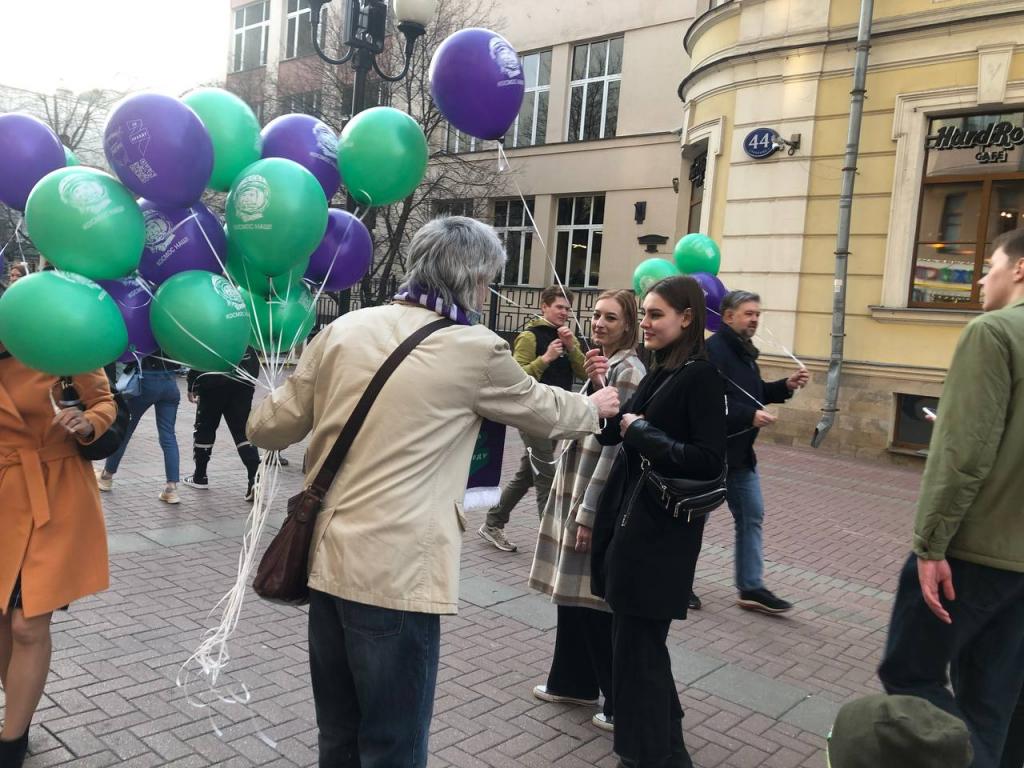 По всей России прошли акции Движения Захара Прилепина в честь 60-летия первого полета человека в космос 6