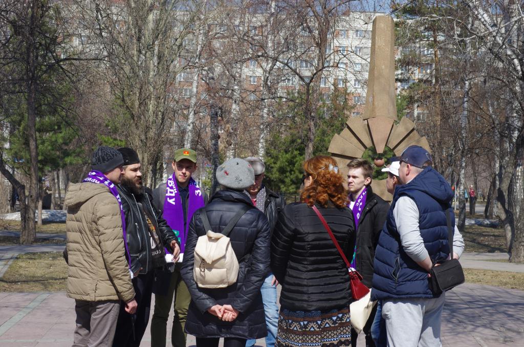 Движение Захара Прилепина в Новосибирской области почтило память погибших в радиационных авариях и катастрофах 1