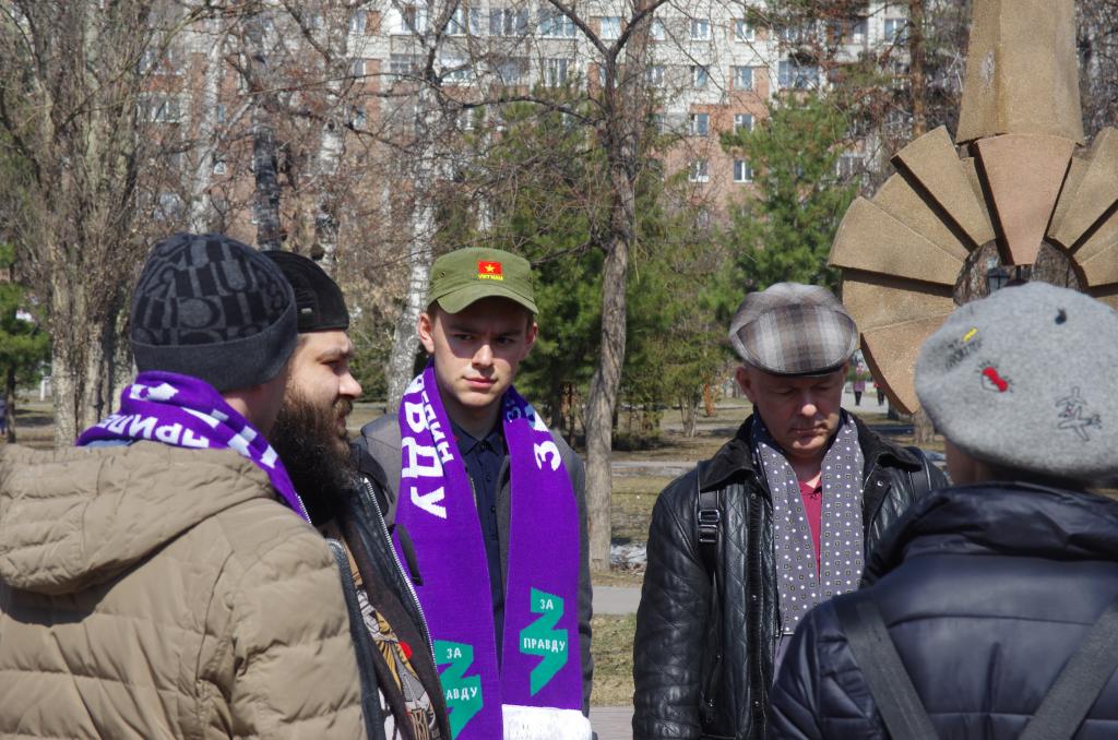 Движение Захара Прилепина в Новосибирской области почтило память погибших в радиационных авариях и катастрофах 2
