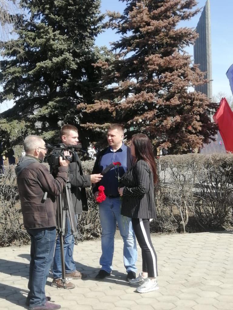 По всей России прошли акции Движения Захара Прилепина в честь 60-летия первого полета человека в космос 46