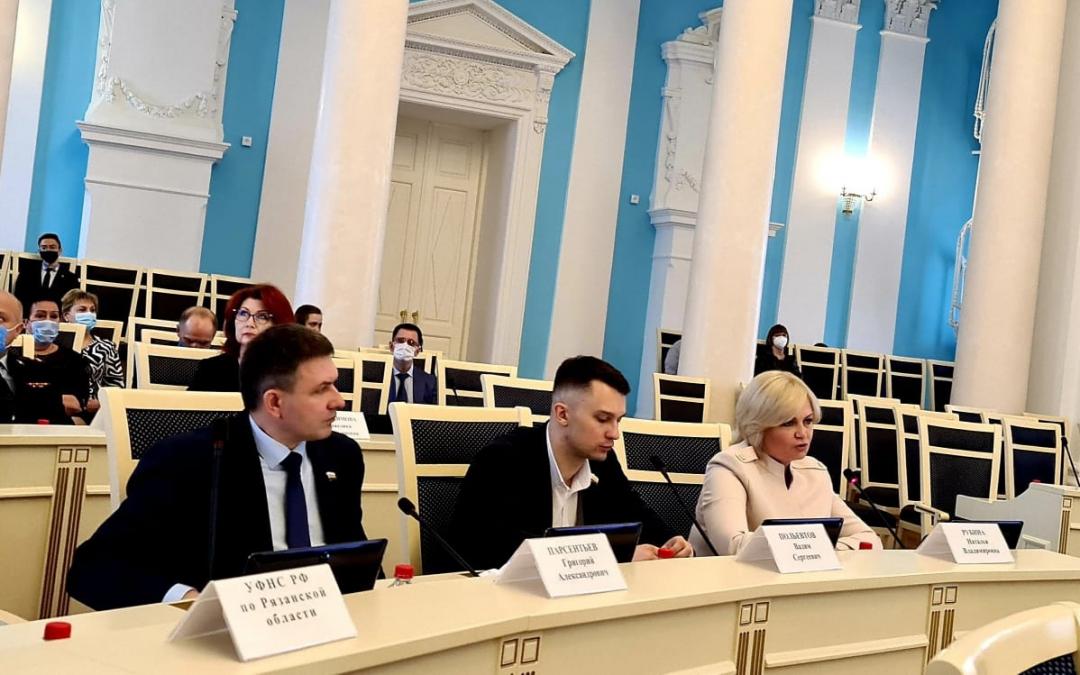 Григорий Парсентьев на службе в Рязанской областной Думе