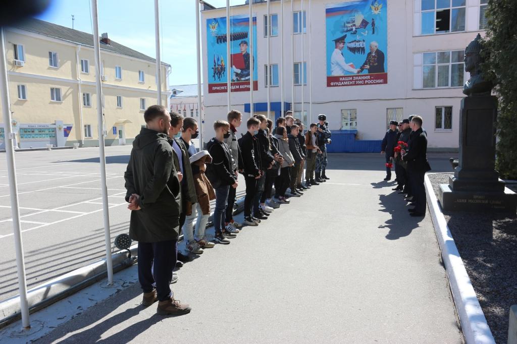 Мероприятия в День воинской славы России в Рязани 1