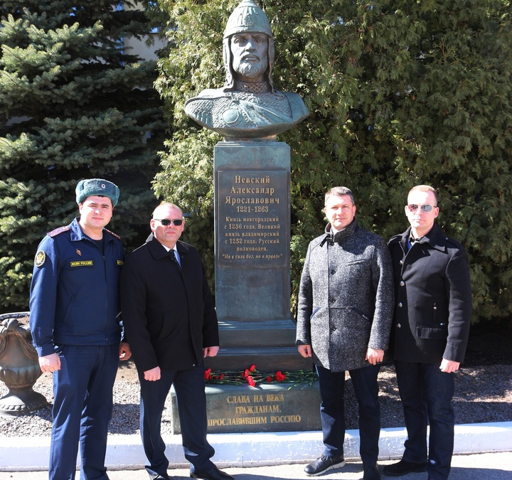 Мероприятия в День воинской славы России в Рязани