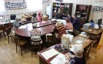 Встреча с ветеранами Рязанской области