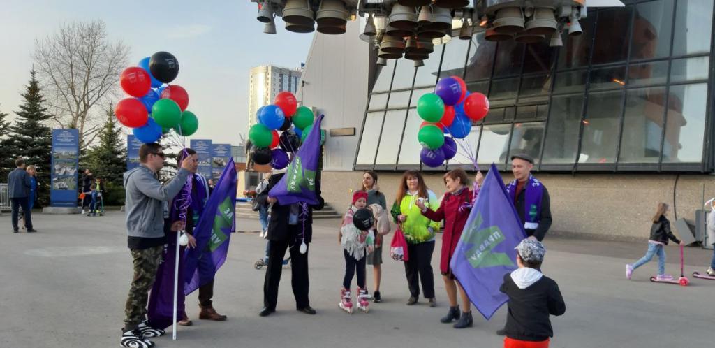 По всей России прошли акции Движения Захара Прилепина в честь 60-летия первого полета человека в космос 43